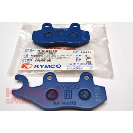 BRAKE PAD SET - 43150-KEBE-306