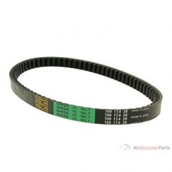 Drive Belt Bando Type 724mm for Piaggio short, Honda, Peugeot