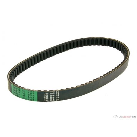 Drive Belt Bando for SYM Megalo 125, Attila 125, 150