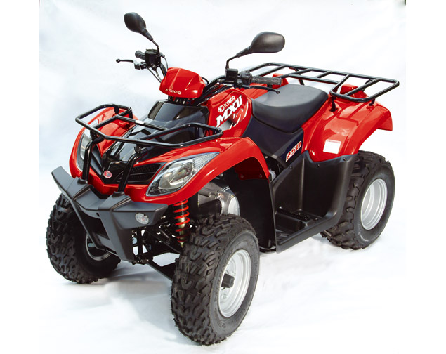 quad kymco 250 mxu