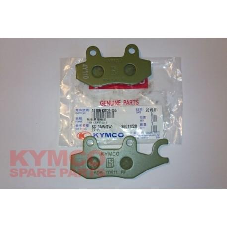 BRAKE PAD SET - 45105-KKD6-305