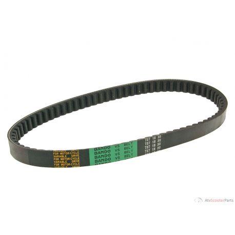 Drive Belt Bando for Kymco 2-strokes, 4-strokes, SYM liegend